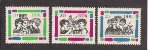 GERMANY - DDR SC# 695-7 F-VF MNH 1964