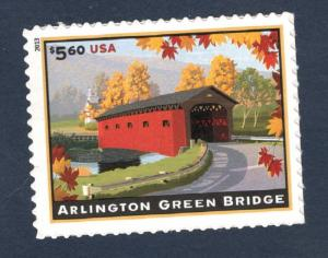 4738 Arlington Green Bridge Single Mint/nh FREE SHIPPING