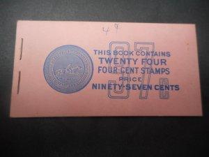 # BK 107 Mint NH Complete Booklet