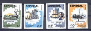 SENEGAL, TRANSPORT/INDUSTRY IMPERF SET 1988, NH **!