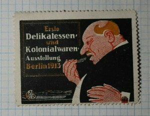 Delicacies & Colonial Goods Exhibition Berlin 1913 Exposition Poster Stamp Ads