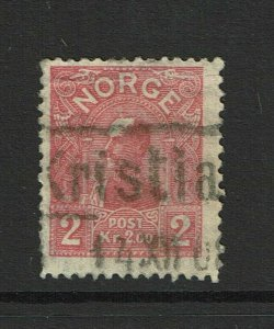 Norway SC# 66, Used, Hinge Remnants, canceled 1908? - S9383