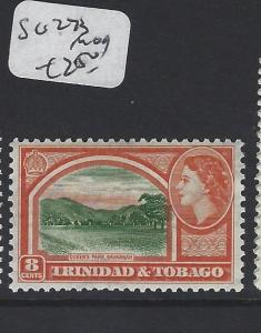 TRINIDAD AND TOBAGO  (PP2005B) QEII   8 C   SG 273   MOG
