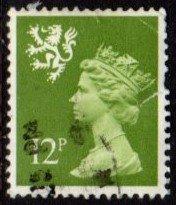 Scotland - #SMH17 Machin Queen Elizabeth II - Used