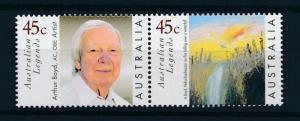 [73592] Australia 1999 Legend Painter Arthur Boyd Waterfall  MNH