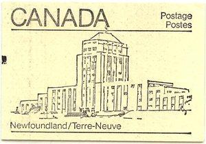 Canada - USC#BK82a Counter - Newfoundland Cover
