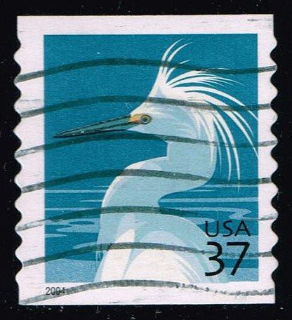 US #3829A Snowy Egret; Used (0.25)