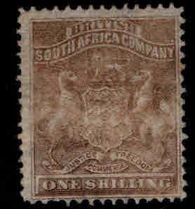 Rhodesia Scott 9 MH* gray brown color CV $55