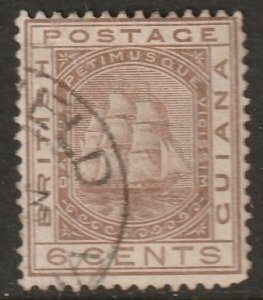 British Guiana 1882 Sc 110 used