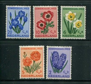 Netherlands #B249-53 Mint