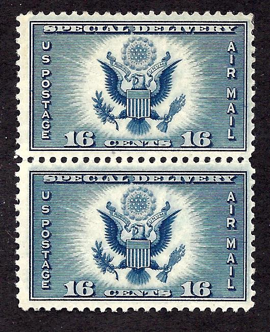 #CE1 Mint,OG,NH... Pair... SCV $1.80