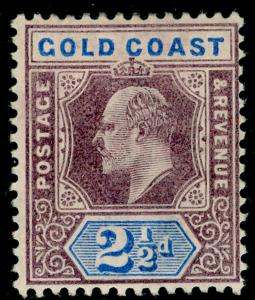 GOLD COAST SG41, 2½d dull purple & ultramarine M MINT.