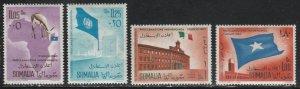 Somalia #243-244, C70-C71 MNH Full Set of 4 cv $4.90