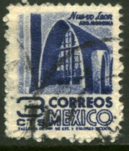 MEXICO 856 3cents 1950 Definitive wmk 279 Used (1)