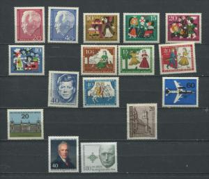 Germany Berlin 1962 And Up MH Complete Sets