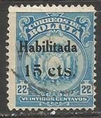 BOLIVIA 140 VFU X267-2