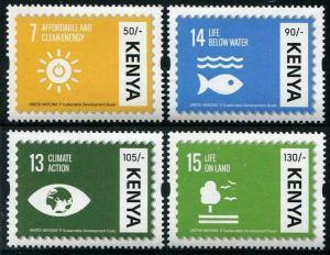 HERRICKSTAMP NEW ISSUES KENYA U.N. Sustainable Development