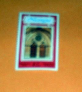 Nicaragua - 1072, MNH. Church Gothic Portal. SCV - $0.25