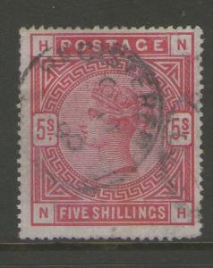 GB 1883 Queen Victoria SG 181 FU