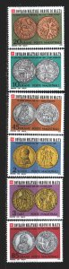 Order of Malta. 1978. 149-54. Coins on stamps. MNH.