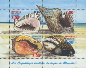 Mayotte Scott #'s 140 MNH
