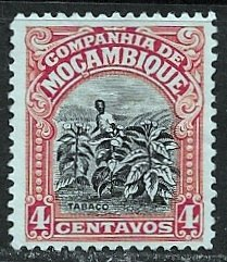 Mozambique Company ~ Scott # 118 ~  Unused ~ No Gum