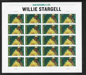 USA 4696a - Willie Stargell - Imperf Pane - VF - MNH - CV$45.00