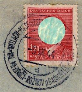 BÖHMEN u. MAHREN - WALLACH-MESERITSCH-RISENAU ud RADHOSCHT TPO n°633a CDS /Mi.96