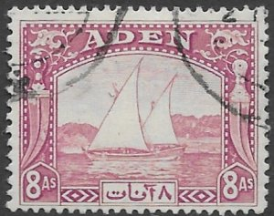 Aden    8   1937  8as  fine used