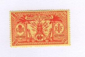 New Hebrides #16 MH - Stamp - CAT VALUE $4.00