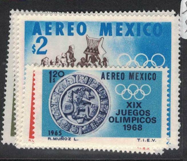 Mexico SC 965-6, C509-11 MOG (7duo)