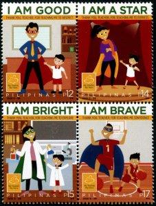 2020 Philippines Teachers Day B4 (Scott NA) MNH