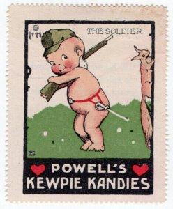 (I.B) US Cinderella : Kewpie Kandies Promo Stamp 2 (The Soldier)