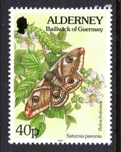 Alderney 84 MNH VF