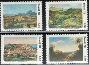 Brazil MNH 1589-92 Landscapes 1978