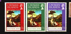 Cayman Scott 251 - 253 Unused NH