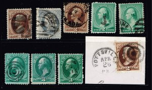 US STAMP #  OLD USA STAMP COLLECTION LOT  #T5