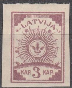 Latvia #25 F-VF Unused  (SU5385)