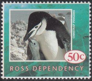 Ross Dependency 1994 MNH Sc L25 50c Chinstrap penguins Wildlife