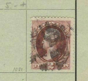 EARLY AMERICAN 2 CENT STAMP. REF 455