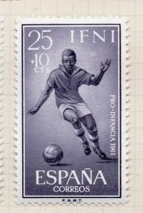 Spain Ifni 1959 Stamp Day Early Issue Fine Mint Hinged 25c. 152668