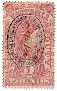 (I.B) Australia - Victoria Revenue : Stamp Duty £5