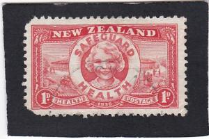 NEW ZEALAND,  #   B - 11   used