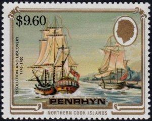 ✔️ PENRHYN 1984 - SHIPS REVOLUTION & DISCOVERY - SC. 286 ** MNH $23 [ST2.83C]