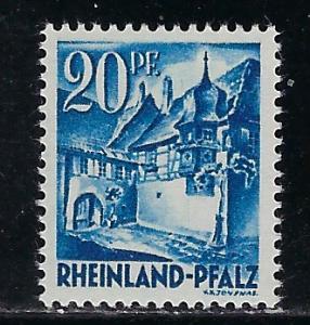 Germany - under French occupation Scott # 6N7, mint nh