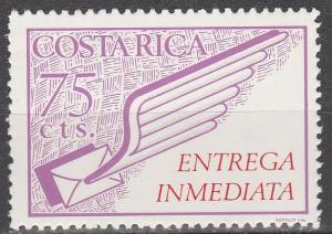 Costa Rica #E4  MNH  (S5952)