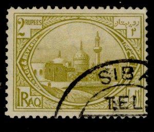 IRAQ SG51, 2r olive-bistre, FINE USED.