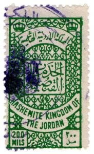 (I.B) Jordan Revenue : Duty Stamp 200m