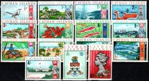 Cayman Islands #210-24 MNH CV $9.00   (X7009)