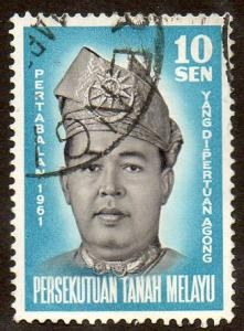Malaya, Federation of  Scott  98  Used